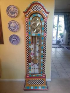 Jonis Grandfathers Clock... - Pots and Pins