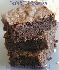 From Cupboard to Cupboard: Tea's BEST Brownies