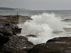 Slam rock, Port Edward Kwazulu-Natal South Africa. Kwazulu Natal, Niagara Falls, South Africa, In This Moment, Rock, Photography, Travel, Life, Photograph