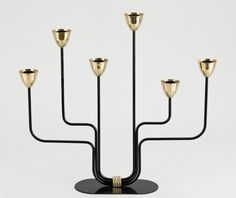 Large Candelabra by Gunnar Ander . 2 available 3