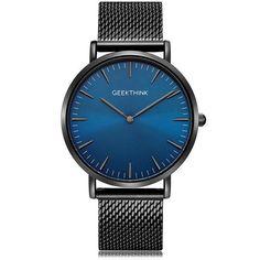 Luxury ultra thin quartz watch for men