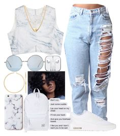 """""""❄❄"""" by lilmama1250 ❤ liked on Polyvore featuring CO, Herschel Supply Co., NIKE and Ettika"""