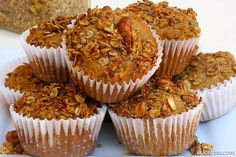 Carrot Zucchini Whole Grain Muffins are super easy to make! This recipe is our family's favorite weekend breakfast along with piece of fruit and glass of freshly squeezed OJ.