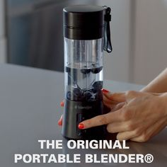 BlendJet One is the Original Portable Blender®. It's perfect for smoothies, protein shakes, and all of your blending needs. Cool Kitchen Gadgets, Home Gadgets, Cooking Gadgets, Cool Kitchens, Gizmos And Gadgets, Cool Gadgets To Buy, Cooking Tools, Cooking Classes, Tech Gadgets