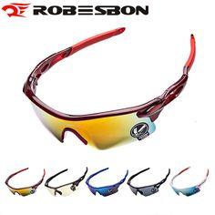 ROBESBON Anti-UV Cycling Glasses Men Plastic Sports Eyewear Bicycle Bike Sunglasses Women Riding Goggles Oculos Ciclismo #CLICK! #clothing, #shoes, #jewelry, #women, #men