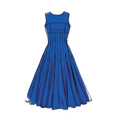 M7117, Misses' Dresses