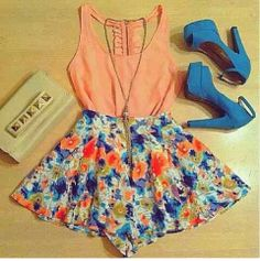 Perfect for the summer! So cute