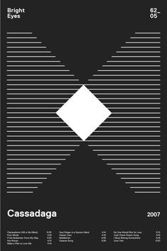 The simplicity is cool, I love lines and shapes, can you tell?