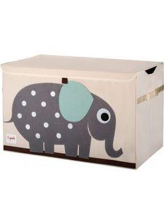 3 Sprouts Spielzeug Kiste Elefant