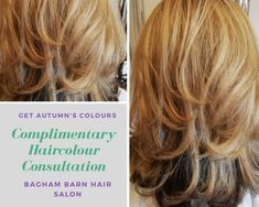 Autumn Hair Colour  & finish -   Sue lives a busy life, with work and family commitments. The last thing she wanted to do was think about the right hair colour shade.  We did her blowdry and arranged a complimentary consultation on her second visit with one of our salon educators.   We listened to her and recommend #Babylights. Babylights gave her this natural blended look and will allow for a even tone on her re- growth.   Then we finished her hair with a layered cut and a free volume blow…
