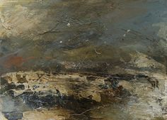 Wilderness 2015 oil on paper 25cm x 35cm by Dion Salvador Lloyd http://www.dionsalvador.co.uk