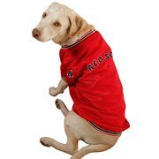 Boston Red Sox Dog Dugout Jacket - Red