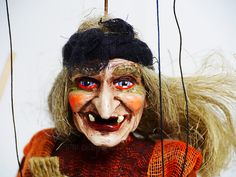 Small Witch Marionette — Company of Marionettes - Puppet Shop