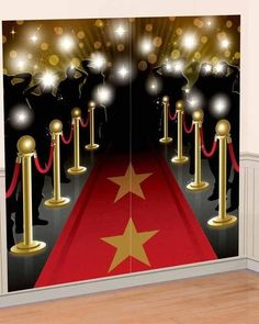 This Scene Setter is the perfect idea for your red carpet celebrity party. At over 5ft tall, the setter sets the theme for your party and doubles as a photo bac