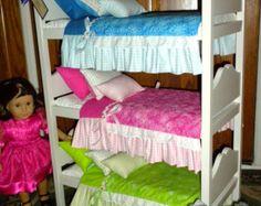 DIY Bunk Beds for AG Dolls