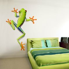 Tree Frog Wall Decal - great for any kids space!
