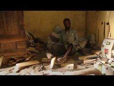 this is admirable...Sentayehu Teshale  builds stools with his feet...