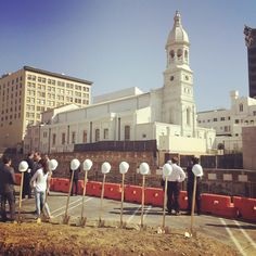 Excited to see our work underway at the groundbreaking of Vibiana Apartments, a mixed-use building with ground level retail located adjacent to Saint Vibiana Cathedral in the Little Tokyo district of Downtown Los Angeles!