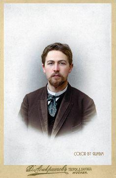 Anton Chekhov | Антон Павлович Чехов | Москва. 1893 | Olga | Flickr