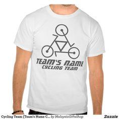 Cycling Team (Team's Name Customizable) Shirts