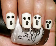 Beauty By Brittany: Ghost Nails