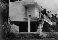 E. 1027, Rouquebrune-Cap-Martin, France, Eileen Gray and Jean Badovici, 1929