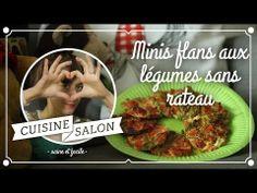 100% sans (prise de tête) - Minis flans aux légumes | Cuisine de Salon - YouTube