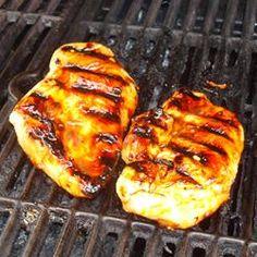 Honey Grilled Chicken Allrecipes.com