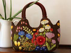 クルーエル刺繍のバッグ・governess