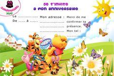 carte d'invitation anniversaire gratuite ariel