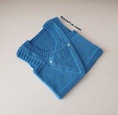 Baby Sweater Patterns, Baby Knitting Patterns, Knit Cowl, Knit Vest, Pet Shop Boys, Moda Emo, Easy Knitting, Knit Fashion, Baby Sweaters