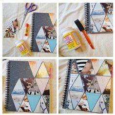 Decorar cuadernos y libretas!!!