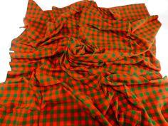 The Original African Masai Shuka Blanket Crafted Maasai Cloth Acrylic Fabrics /Safari Blanket Arush