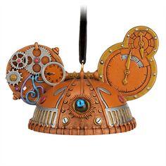 Steampunk Ear Hat Ornament - Eye