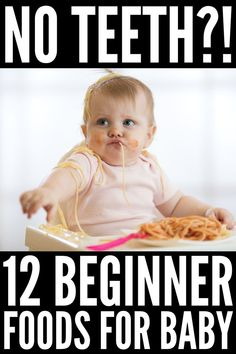 18 First Foods for Baby | Listen up, new moms: starting solids can be stressful! What is the best age to begin? Should you start with homemade purees or is baby led weaning better? What are the best beginner foods for babies with no teeth? If you're looking for a checklist of tips and recipes to help you transition baby from breastmilk and/or formula to solids, this post has it all, including 18 finger food ideas for baby the whole family can enjoy! #introducingsolids #babyledweaning Baby Led Weaning Breakfast, Baby Led Weaning First Foods, Baby Breakfast, Baby Weaning, Baby Led Weaning 7 Months, First Finger Foods, Baby First Foods, Finger Foods For Babies, Baby Emily