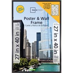 Mainstays 41 Opening Trendsetter Collage Poster Picture Frame Inch - Black for sale online New Photo Frame, Family Photo Frames, Collage Picture Frames, Photo Picture Frames, Frames On Wall, Collage Pictures, Frames Decor, Clip Frame, Photo Letters