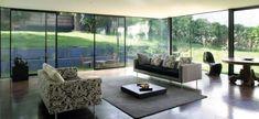 Beautiful Home Designs, Cool House Designs, Beautiful Homes, Aluminium Sliding Doors, Sliding Patio Doors, Aluminium Windows, Paris Home, Eco Construction, Interior Architecture