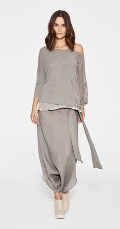Add a wrap round the shoulder or another cardigan/balero