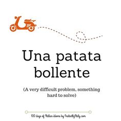 Day 24 of 100 Days of Italian Idioms by instantlyitaly.com