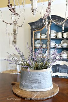 Savvy Southern Style: Simple French Style Dining Room Refresh