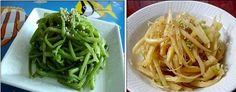 ♬밑반찬/즉석반찬 모음 (200여가지) Green Beans, Spaghetti, Food And Drink, Vegetables, Cooking, Ethnic Recipes, Cook, Recipes, Kitchen