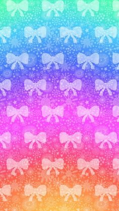 Bow wallpapers|Colorful Rain-bows!