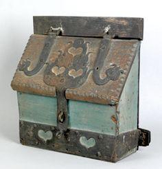 Conestoga Wagon box.  Pook & Pook.  Sold for $28,080.