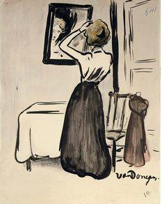 La Destinée, ca 1901, Kees van Dongen. Dutch (1877 - 1968)