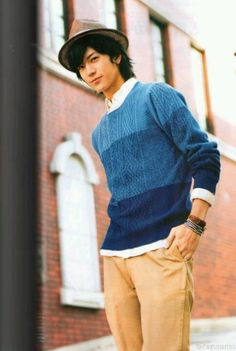 #Yuto #nakajima in #blue my fave color I die #hsj