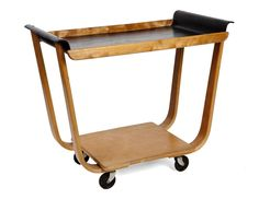 Modernist Bentwood Trolly - Stock - Christophe Edwards & Andrew Webb, Antiques, Decorative Furniture, Art Gallery