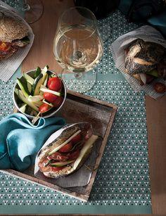 Rendez-vous à table ! - Set de table en papier by Alexandre Turpault / Blog FrenchyFancy