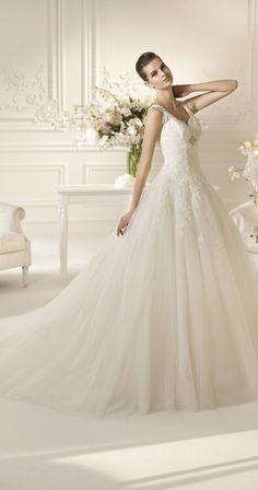 a1a11fb4a pretty wedding dress by White One Vestido De Boda Elegante