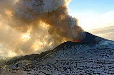 Tolbatschik, one of the world's hottest volcanos