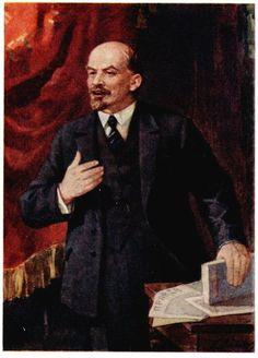 Lenin  by Petr Vasiliev
